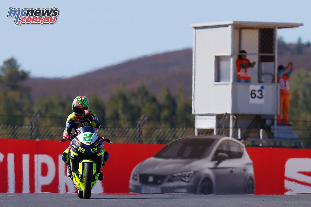 Ana Carrasco became the first female victor in the World Supersport 300