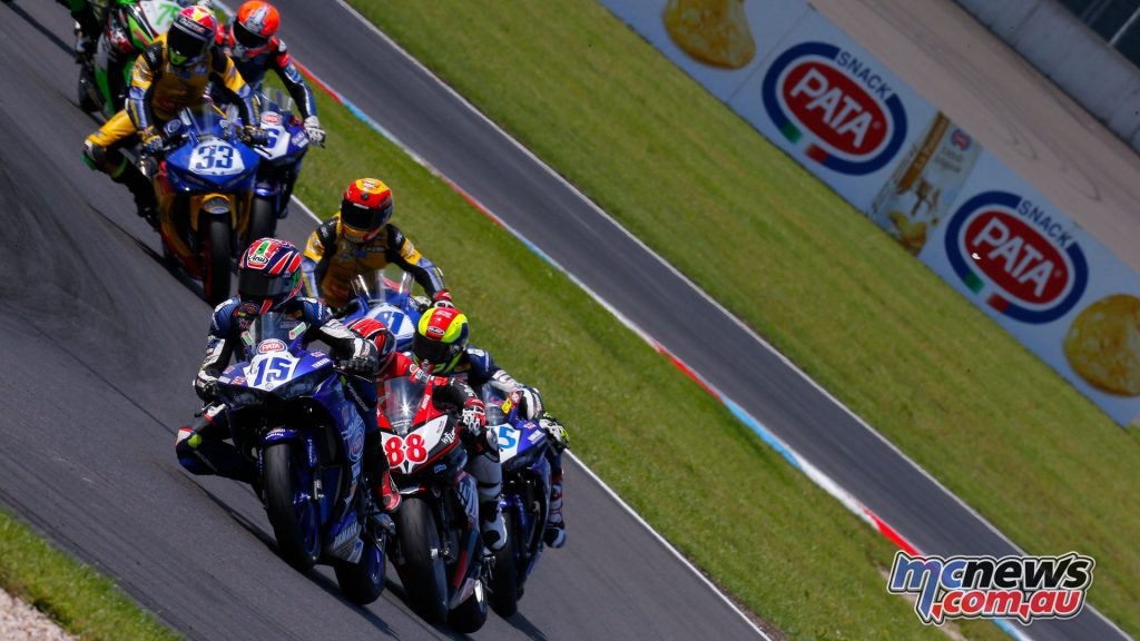 Supersport 300 makes its debut at Portimao with Perez leading Garcia