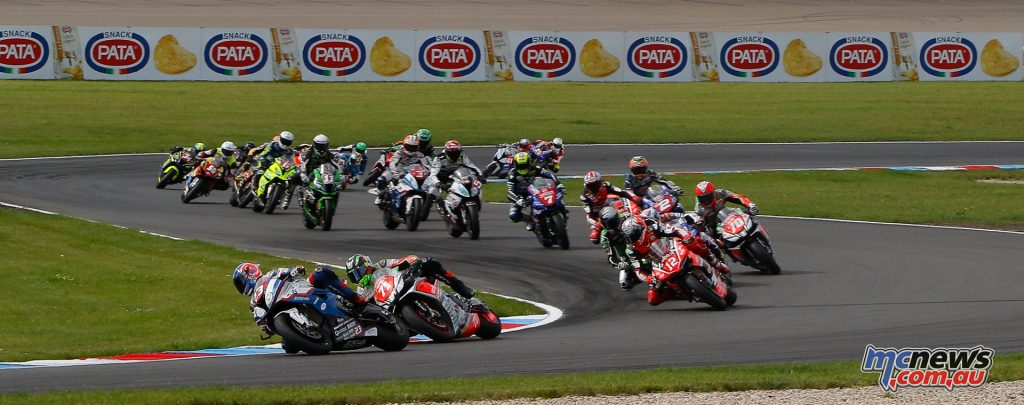 Superstock 1000 heads to Portimao with Michael Ruben Rinaldi holding a strong lead