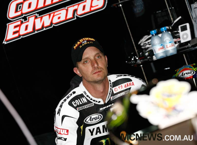 Colin Edwards - 2009 - Image by AJRN