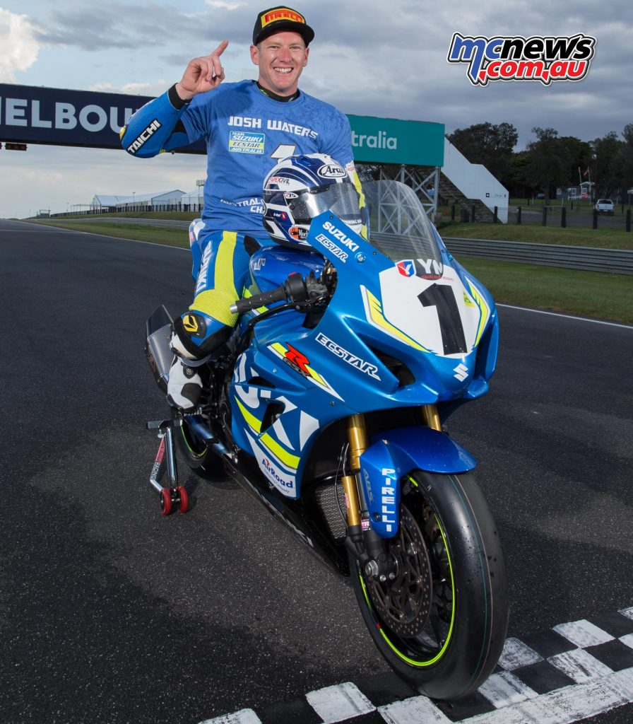 Josh Waters - 2017 ASBK Champion - Image by TBG