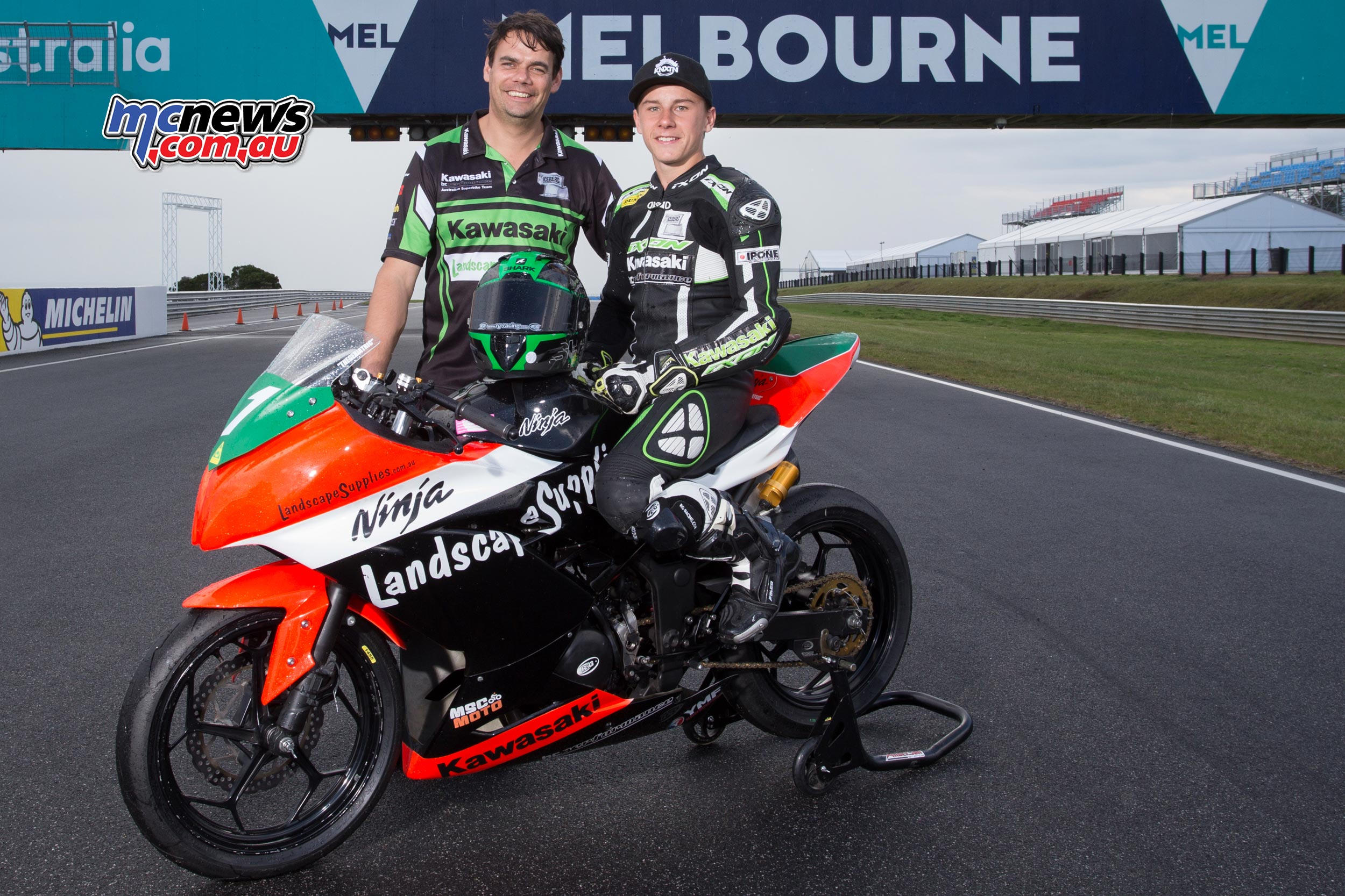 BCperformance tastest championship success in 2017 with Reid Battye in the Supersport 300 category - Image by TBG