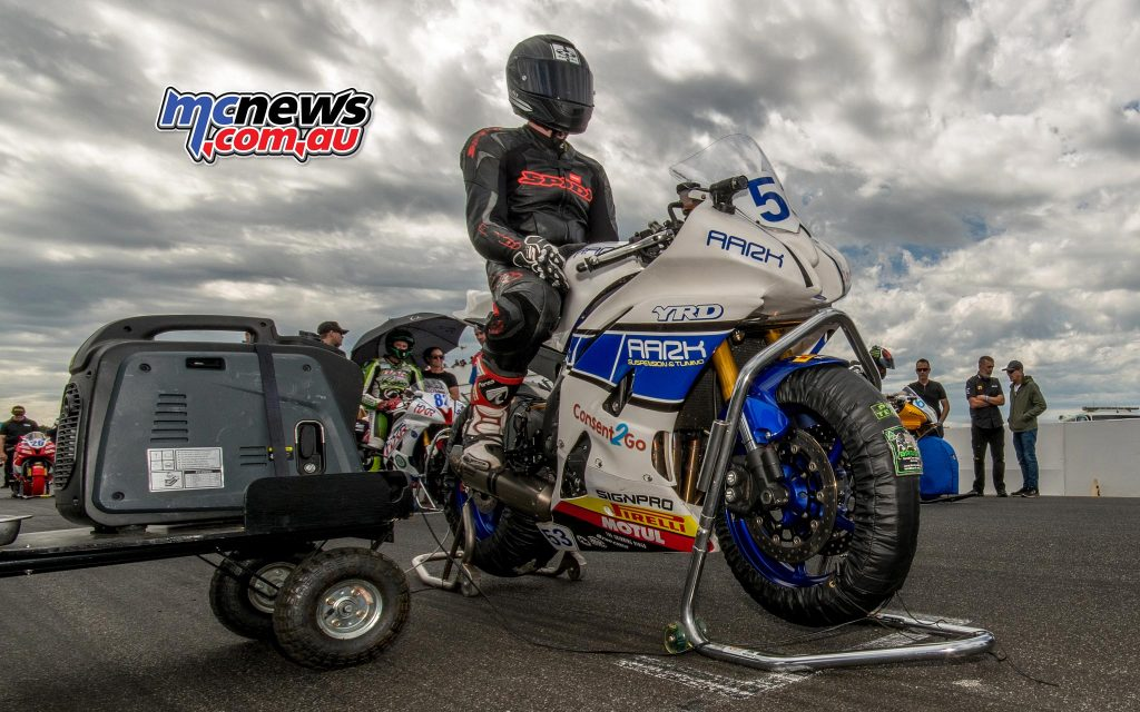 Mason Coote on the grid - Image by Half Light