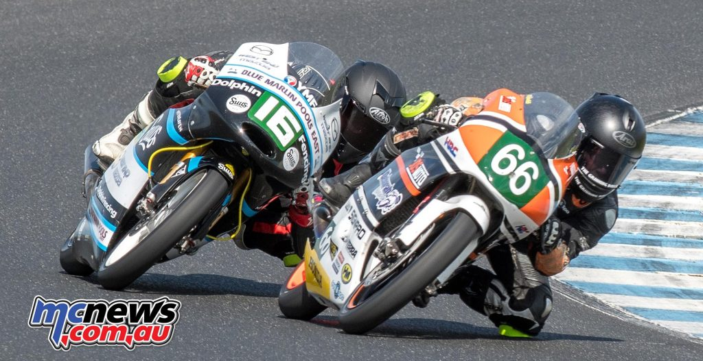 Moto3/125 GP Race 2 - Kelso and Barton - Image by Half Light
