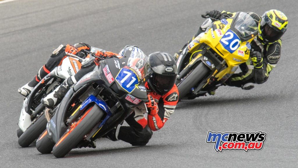 Tom Edwards leads at Phillip Island - Image by Half Light