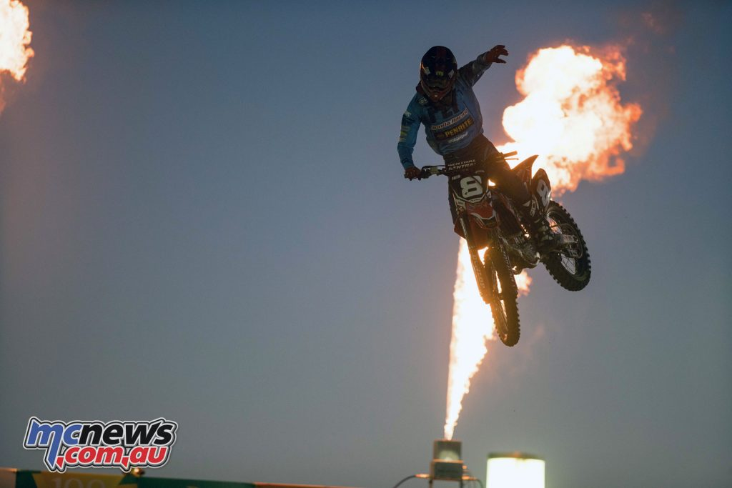 Gavin Faith took the overall SX2 win