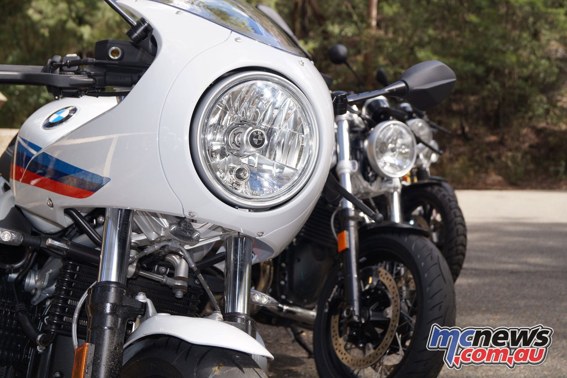 Bmw R Ninet Pure Racer Quick Fang The Top Line Of Bikes And Add To Retro Up