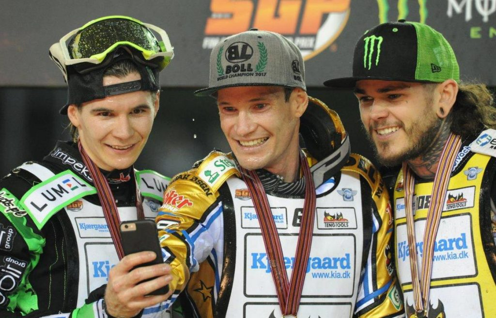 Jason Doyle secures FIM Speedway GP Championship with victory in Melbourne - Image by Colin Rosewarne