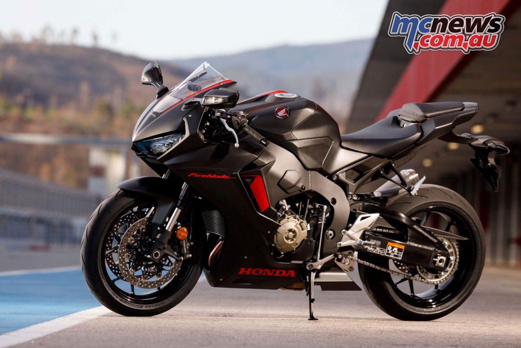 2017 Honda CBR1000RR Fireblade