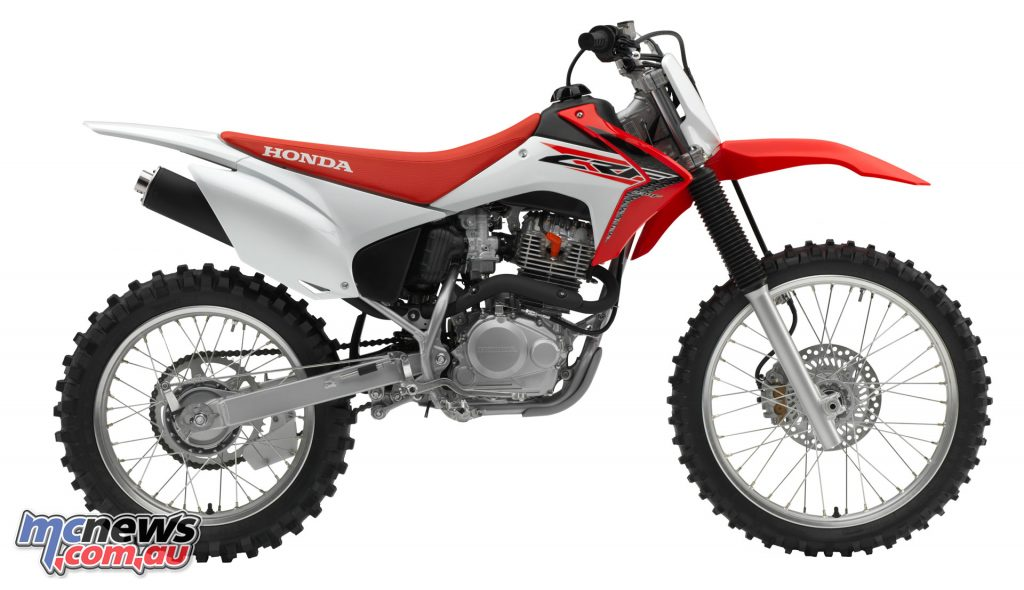 Honda CRF230F - 2017 Australian Motorcycle Sales Data