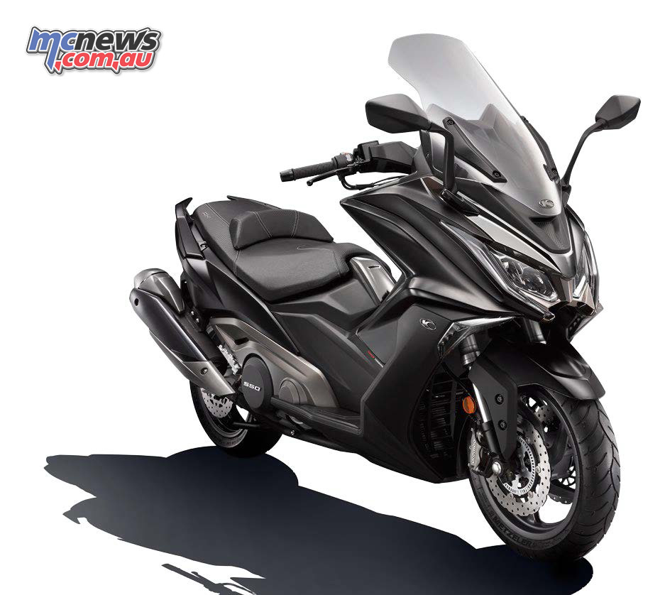 Kymco Australia announce the new AK550