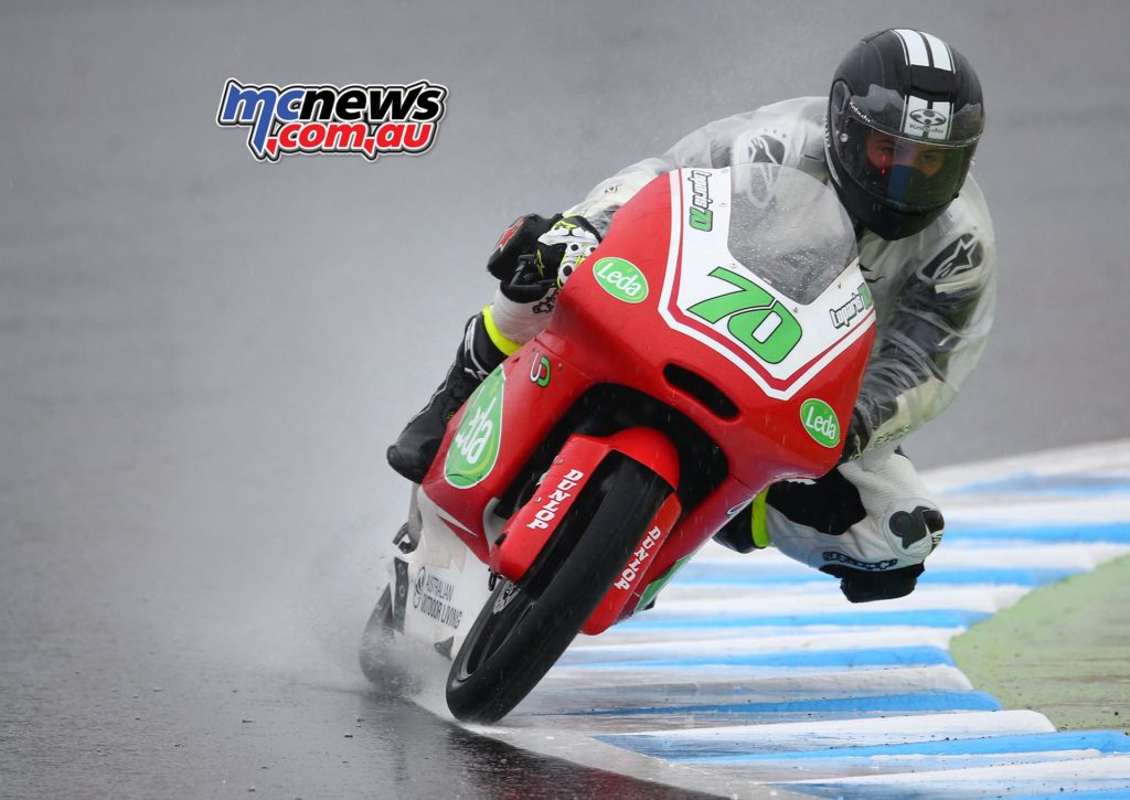 Tom Toparis - Motegi Moto3 2017 - Image by AJRN