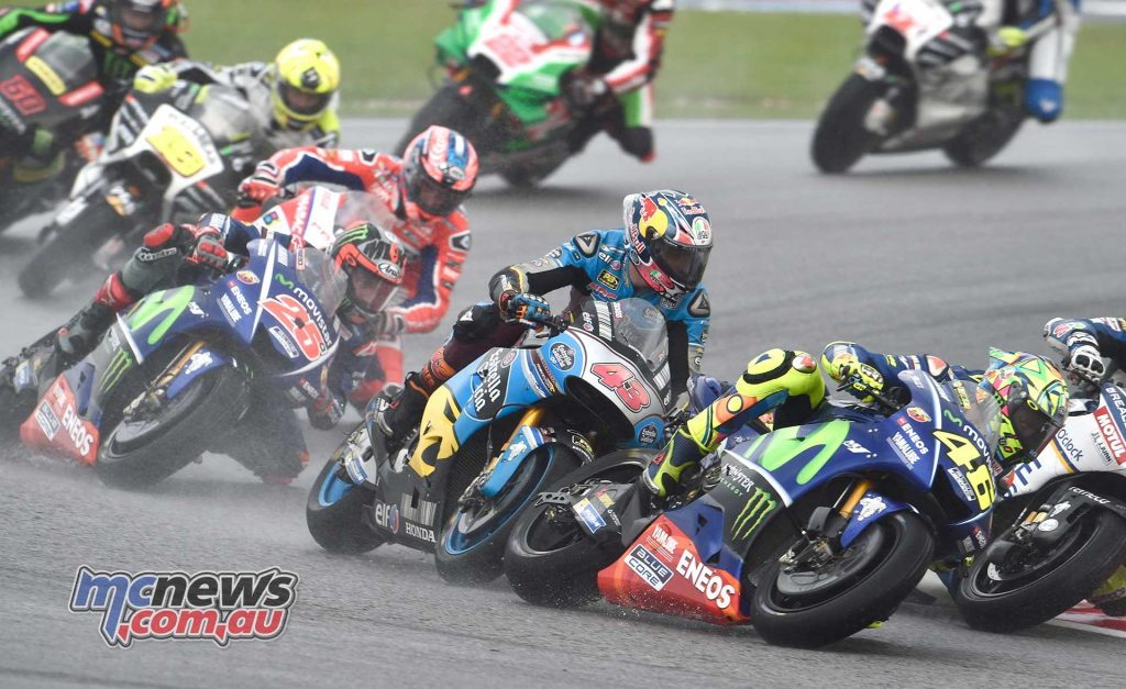 Jack Miller was in the thick of the action early on but as the race wore on was in a somewhat lonely eighth place between Valentino Rossi and Maverick Vinales. That is the Australian's eighth top-ten finish so far this season and a strong ride at Valencia could see him move up to tenth in the championhip standings.