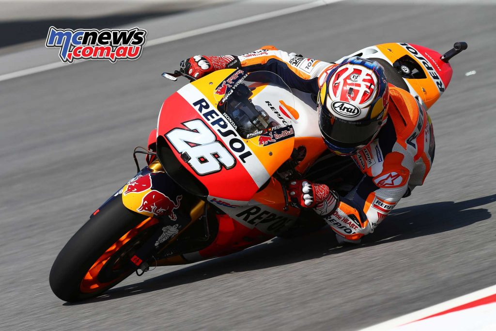 Dani Pedrosa could also be a look in with a strong record at Sepang with his fastest race lap record