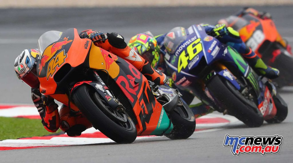 Both Pol Espargaro and Bradley Smith performed strongly for KTM at Sepang. Smith was running strongly in sixth in the early laps of the race but eventually drifted back to 12th as the early pace took a toll on his soft rear tyre. Espargaro finished tenth