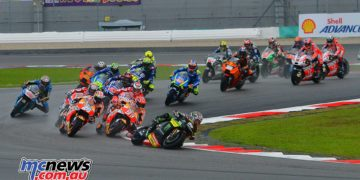 Johann Zarco was the early leader at Sepang but eventually the Ducati men worked their way to the front for a Bologna 1-2