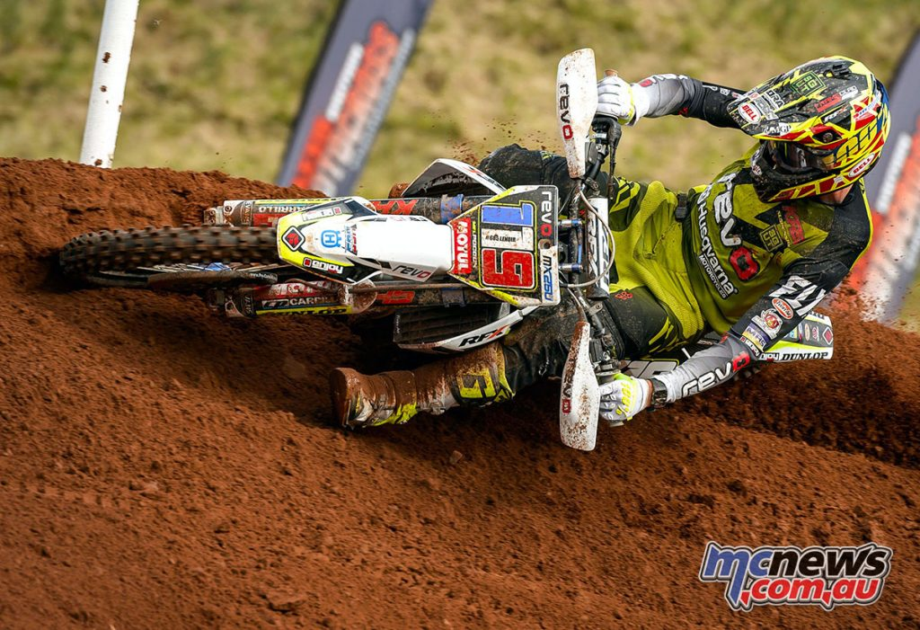 Mel Pocock, the 2017 Michelin MX Nationals MX2 champion remains with the REVO Husqvarna UK team for 2018