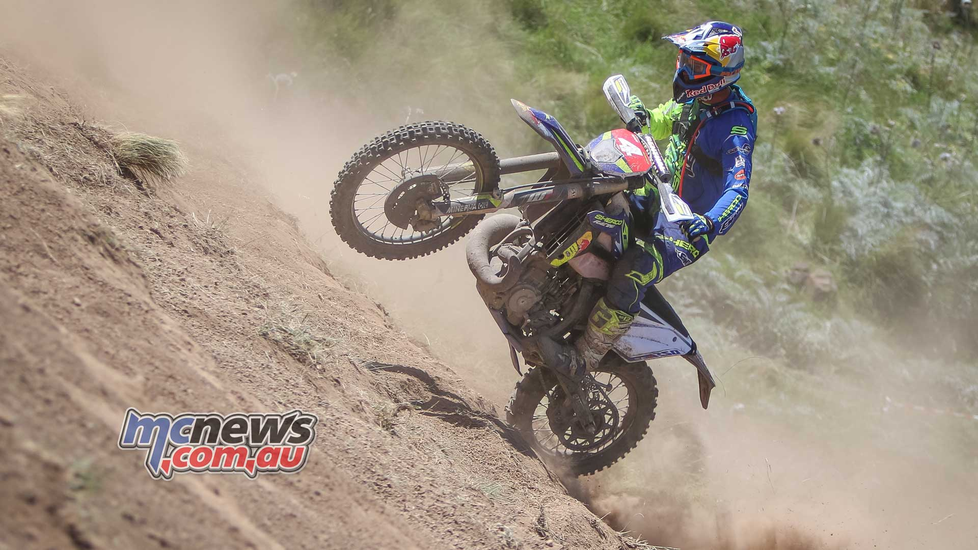 Wade Young conquers Wildwood Extreme Enduro - Kane O'Rourke Photography