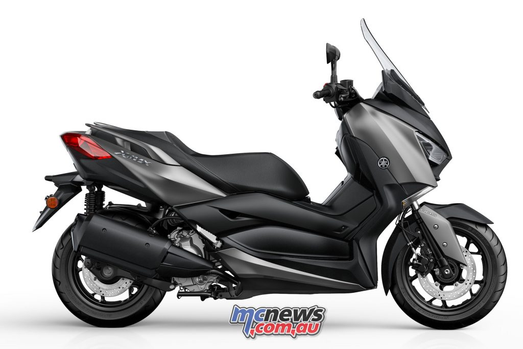 Yamaha XMAX 300 in Lunar Grey