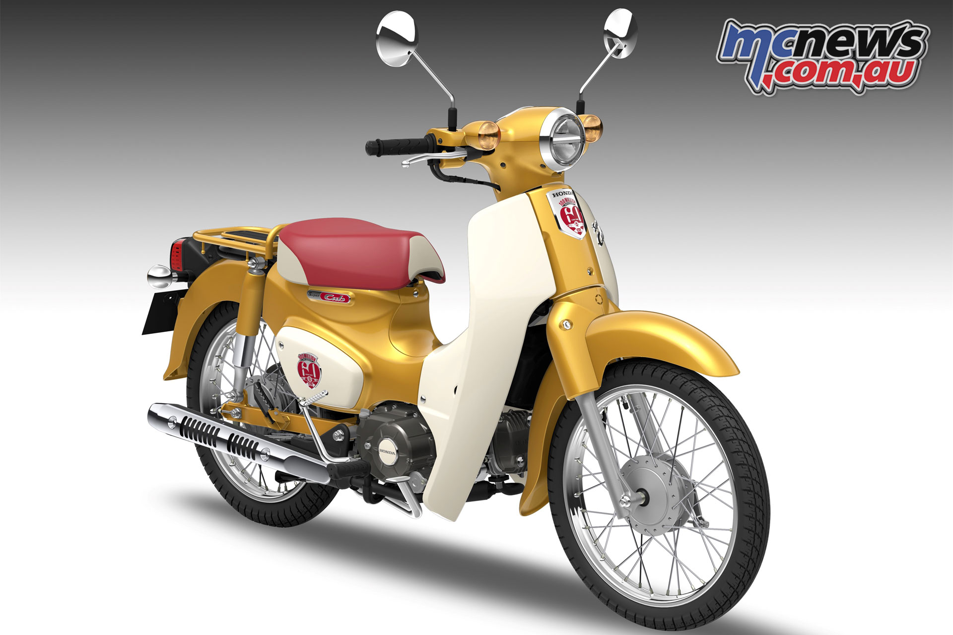 Honda Super Cub 110 Commemorative Edition Concept Motorcycle News Sport And Reviews