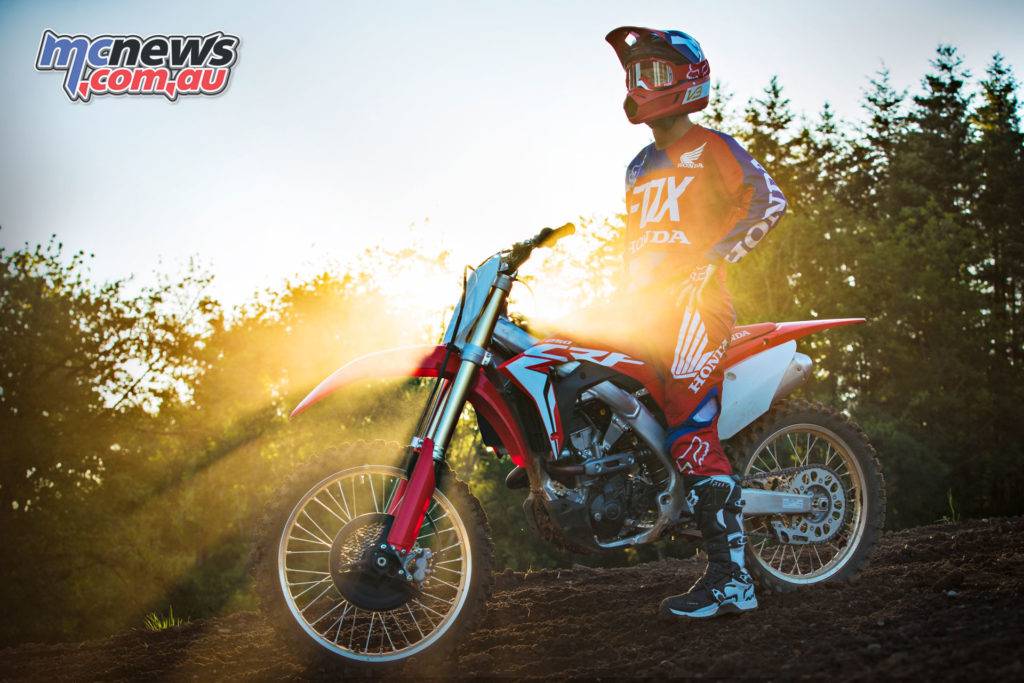 A host of chassis change also promise improved handling on the 2018 CRF250R