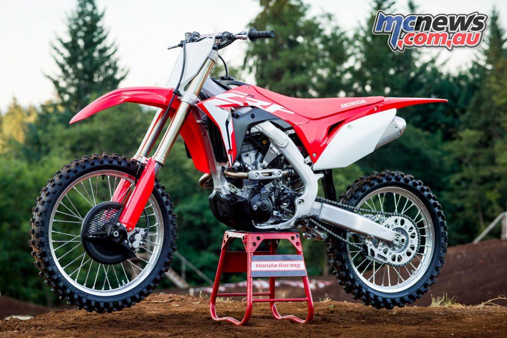 Honda's 2018 CRF250R