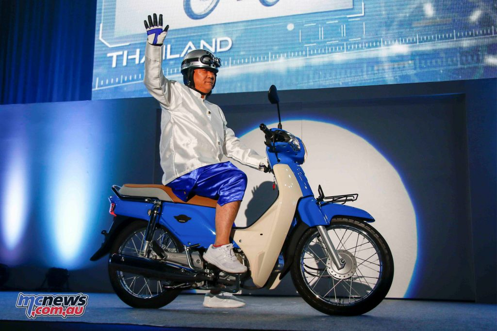 The 2018 Super Cub 125 revealed