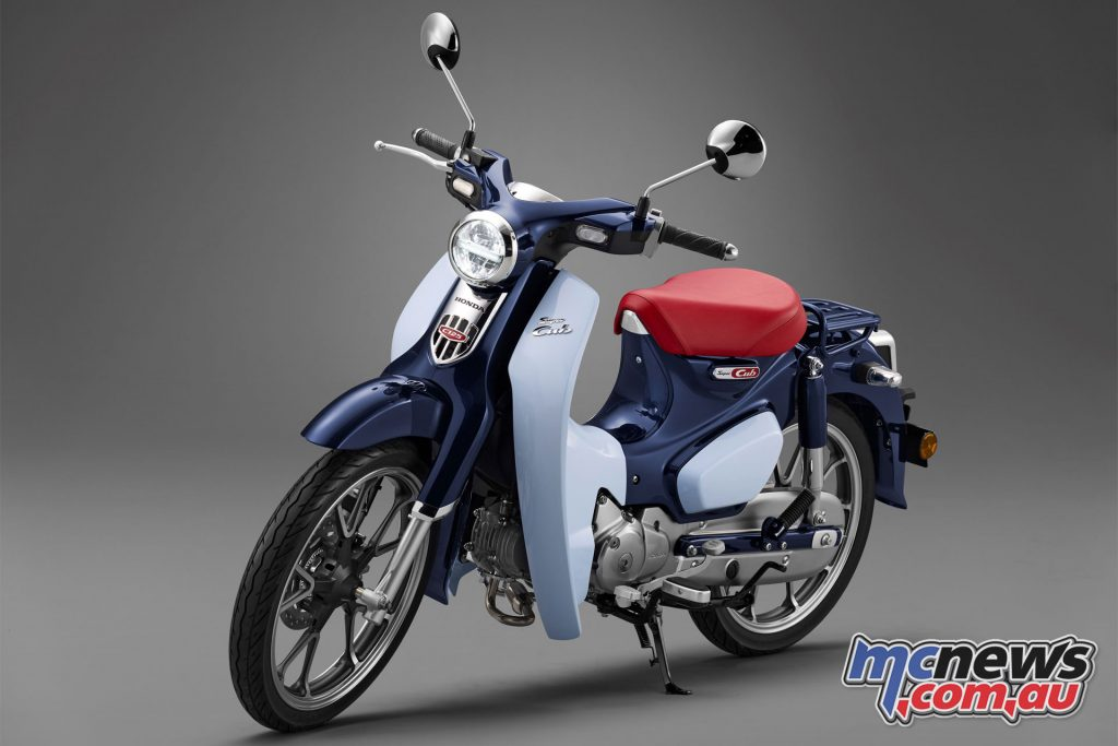 The new for 2018 Honda Super Cub 125 was also revealed