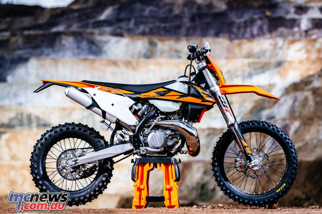 KTM have finally introduced their 250 EXC and 300 EXC TPI models for 2018