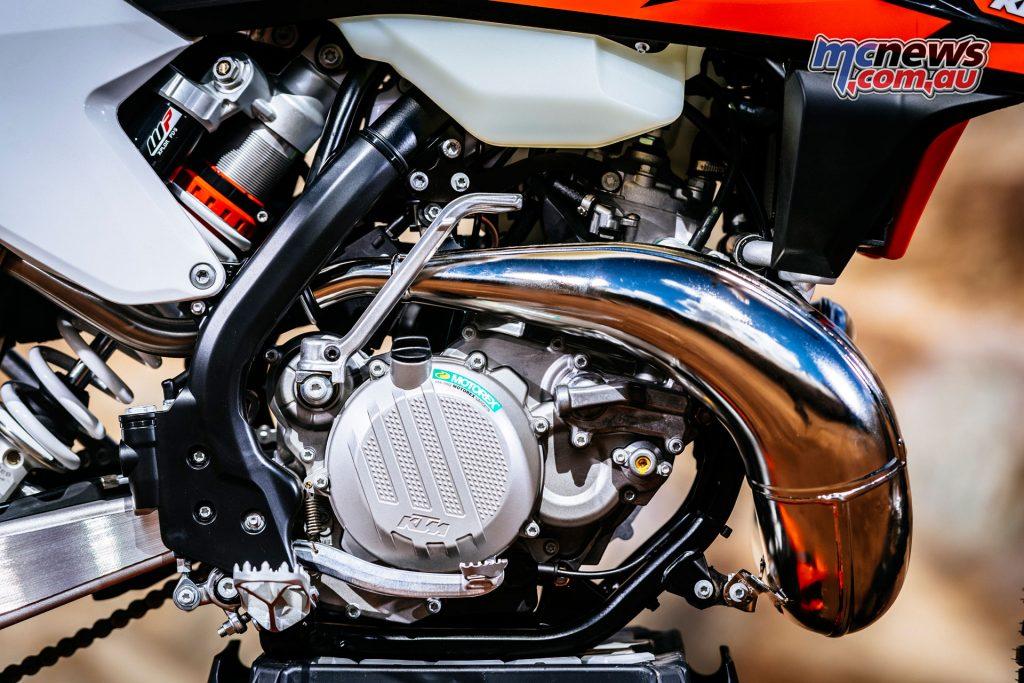 KTM 300 EXC sales were up 88 per cent