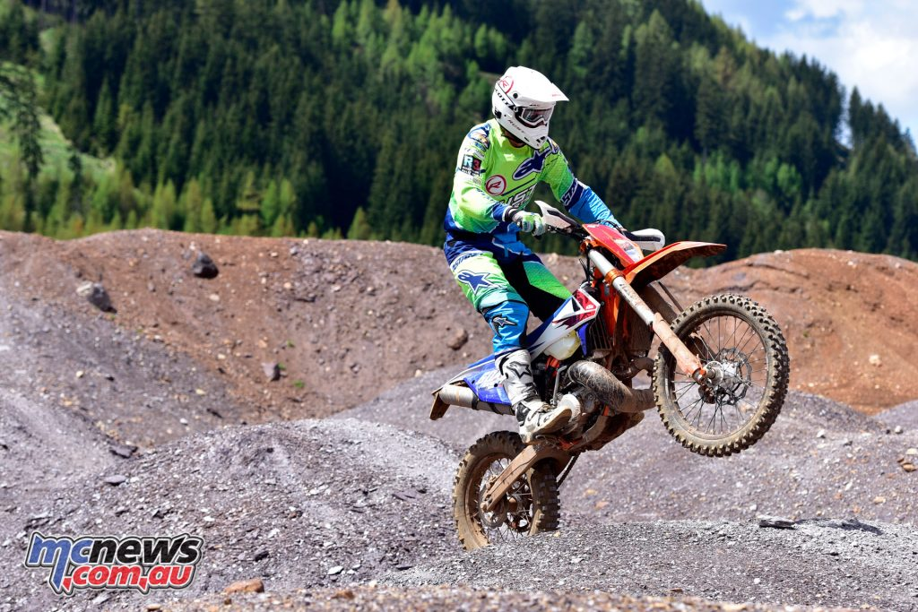 The TPI models feel entirely normal, which would be KTM's aim