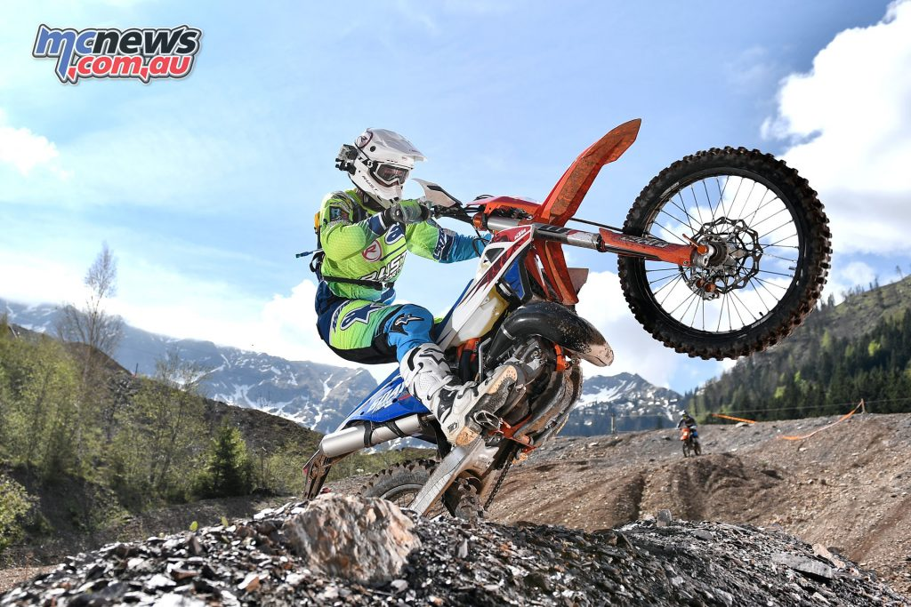 The logic was clear, if the new TPI enduro models could succeed here, it would be further proof of their success