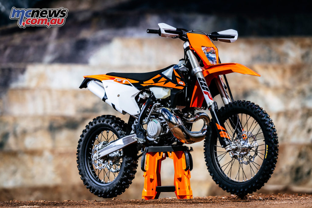 KTM's 300 EXC is the biggest selling off-road motorcycle in Australia