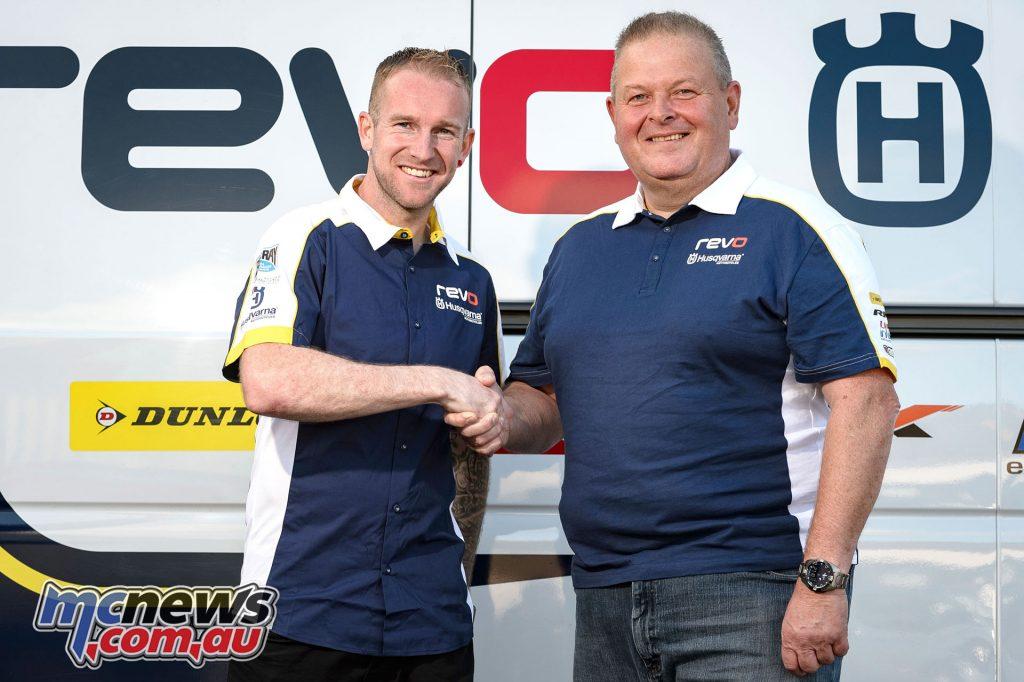 Martin Barr joins REVO Husqvarna UK