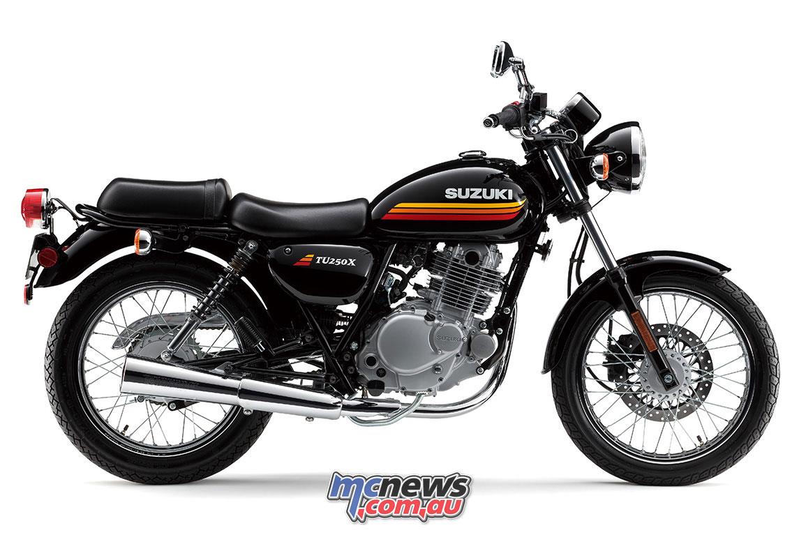 Suzuki Tu250x Review Retro Nimble City 250 Lams