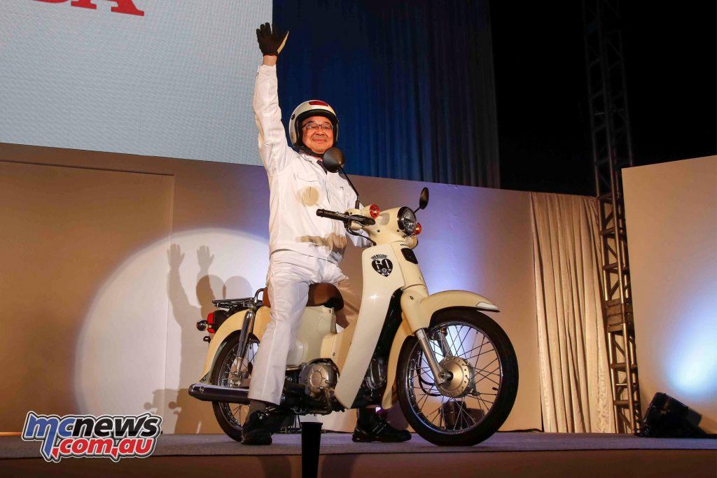 60th Anniversary Honda Super Cub 125