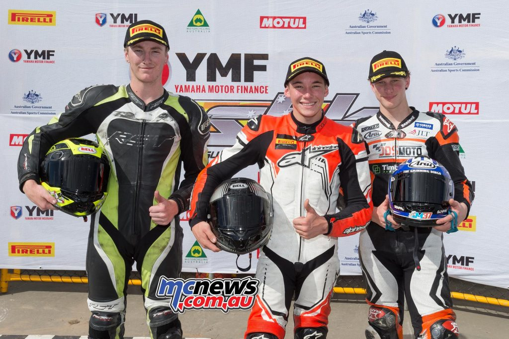 YMF R3 Cup Race One Results Tom Edwards Hunter Ford +0.015 Jack Mahaffy +0.042