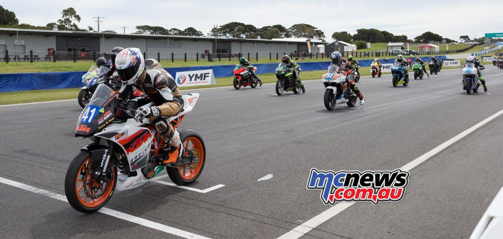 Supersport 300 Race One - Image by TBG