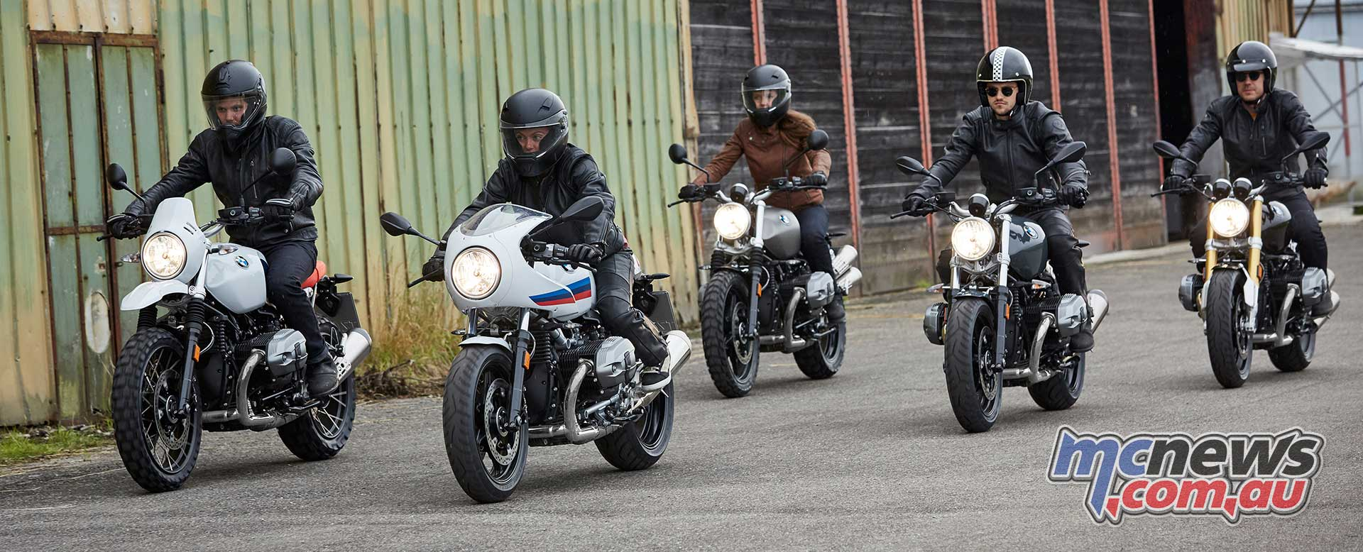 The Urban G/S is the latest machine to arrive in the BMW Heritage line
