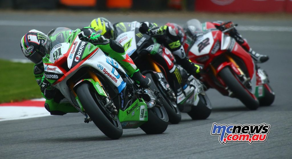 British Superbike 2017 Championship Finale - Brands Hatch - Race One - Haslam, Ellison, O'Halloran