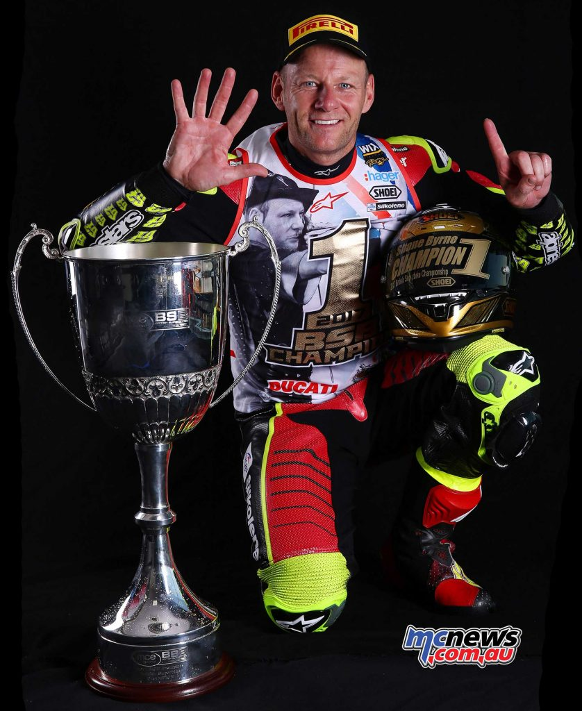 Shane Byrne - 2017 British Superbike Champion