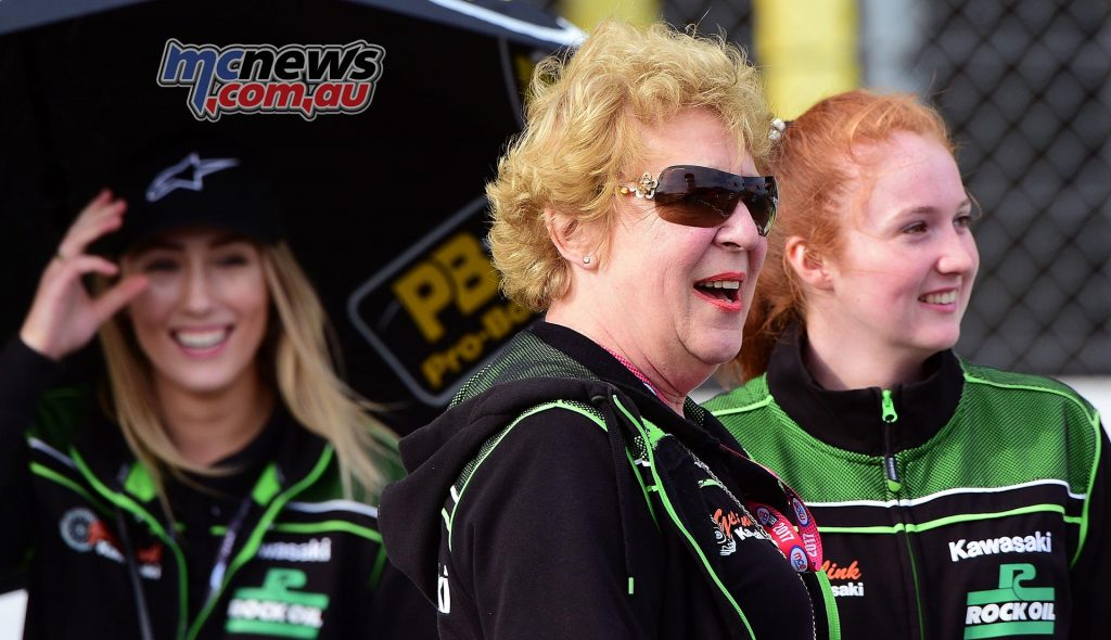 Some of the Currie family were present at Assen to see their boy take a win - Image by Jon Jessop