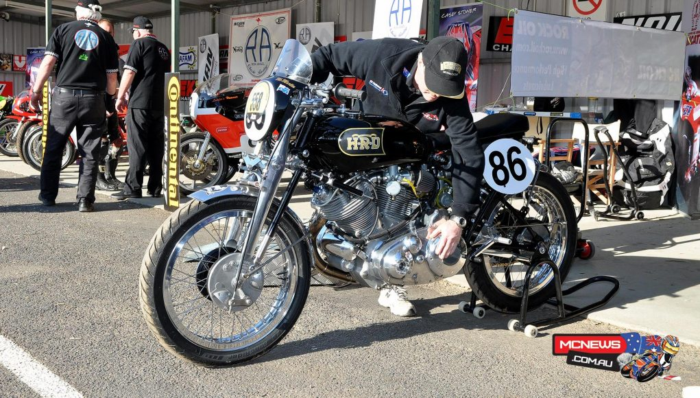 2018 will coincide with the 90th birthdays of Vincent H.R.D. and Motorcycling Australia (MA) and to celebrate, the 2018 Bonanza will be themed all things Vincent H.R.D.