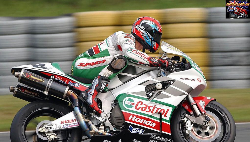 Colin Edwards - Germany - 2002