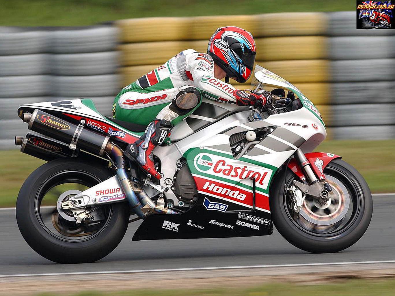 Colin Edwards - Germany - 2002