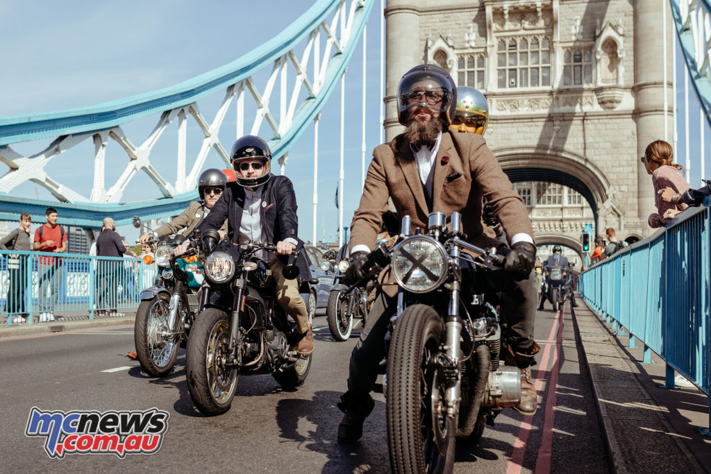 The Distinguished Gentleman's Ride 2017 - London - Image by MJ Studio