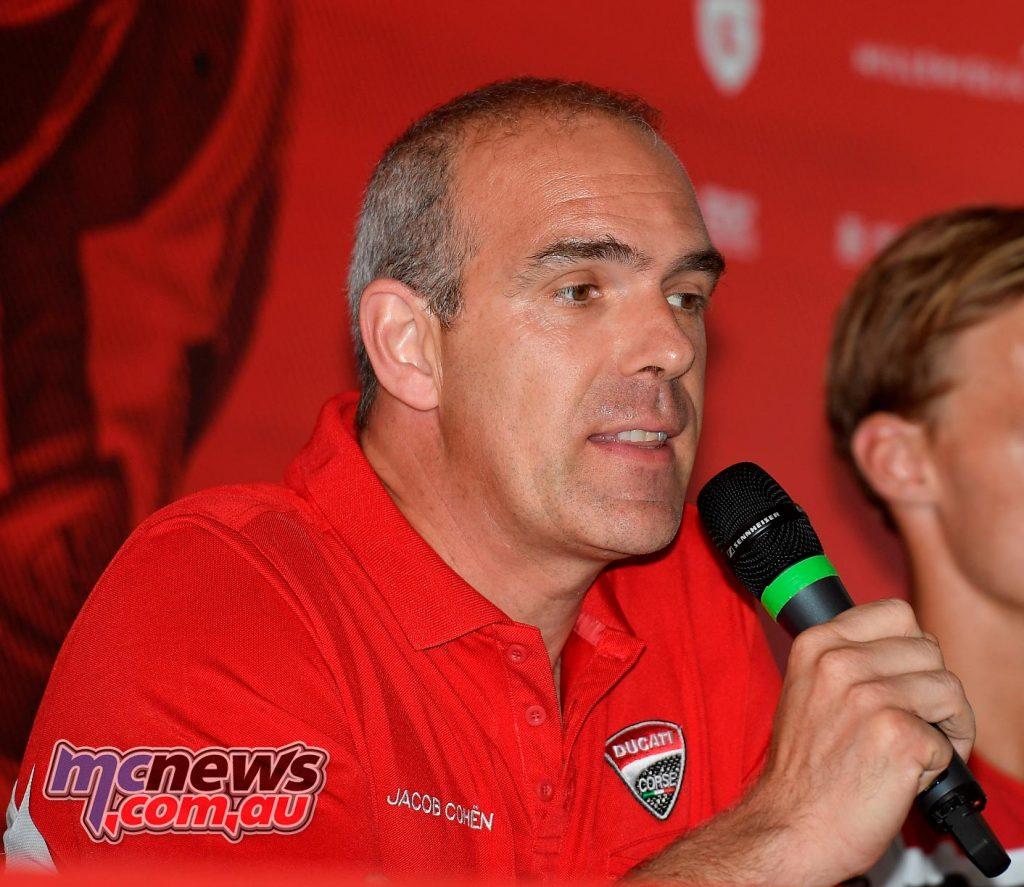 Ernesto Marinelli with Chaz Davies