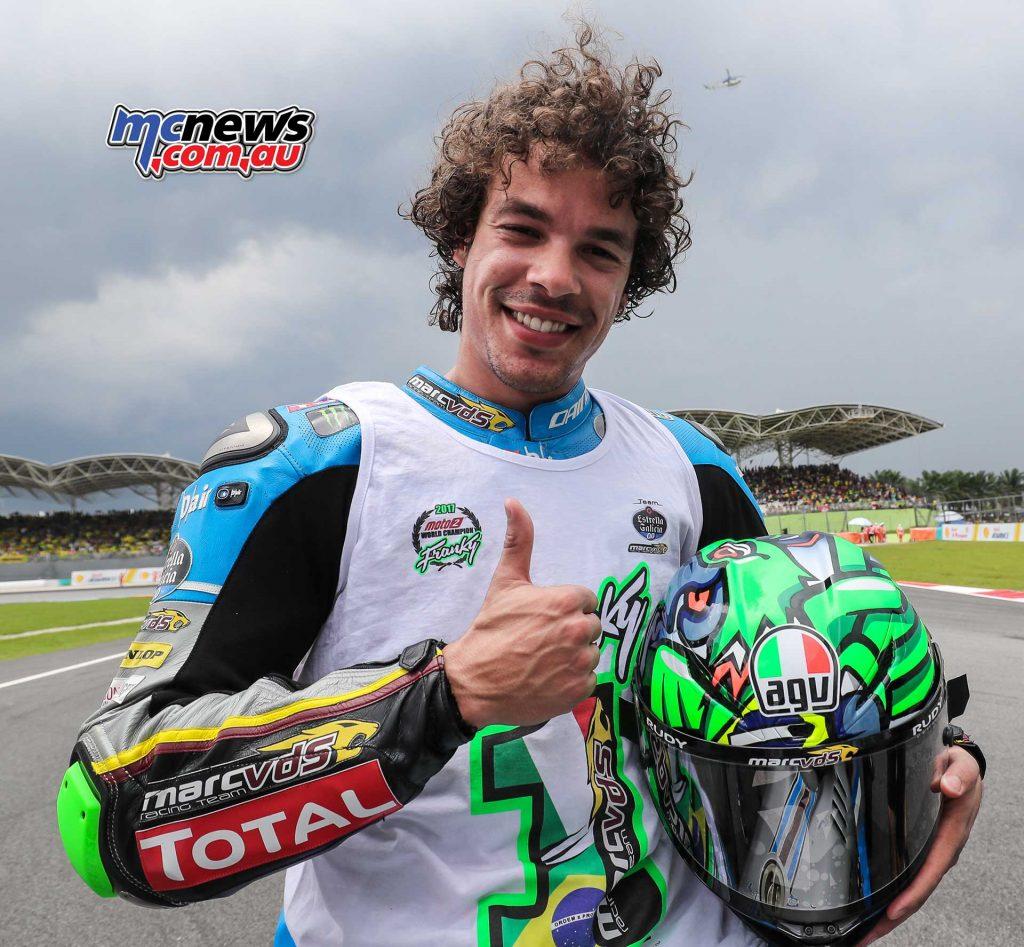 Franco Morbidelli - 2017 Moto2 World Champion