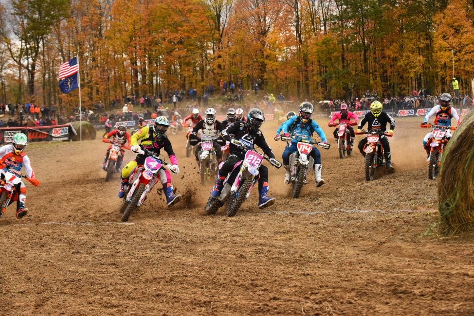 Ricky Russell took the holeshot - Image Ken Hill