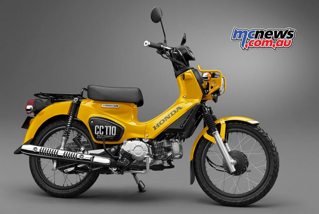 The Honda Cross Cub 110 'CC110'